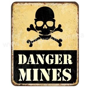 DANGER MINES!