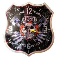 Bikers clock