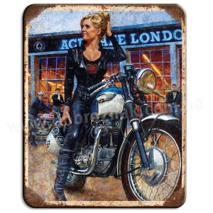 Babe biker