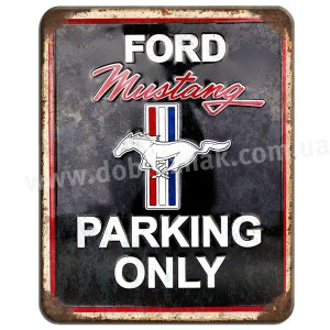 Ford mustang only