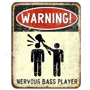 WARNING BASS GUITARIST!
