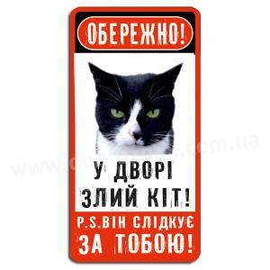 Злий кіт!