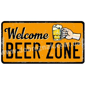 Welcome BEER ZONE