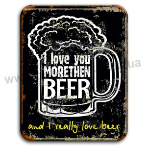 I love morethen BEER!