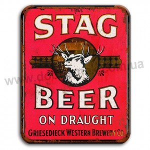 STAG BEER!