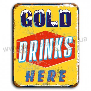 Gold drinks HERE!