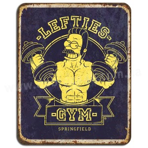Lefties GYM!