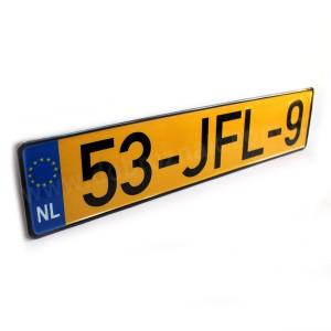 Нідерланський номерний знак