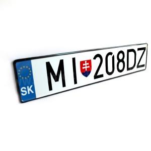 Номерний знак Словаччини