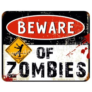Beware of zombies!