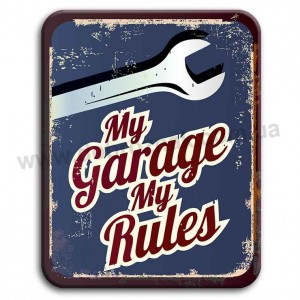 My garage my rules!