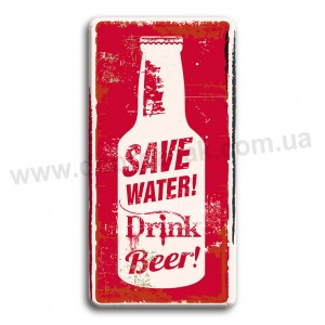 Save water-drink beer!