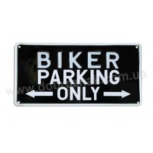 Biker parking onli!