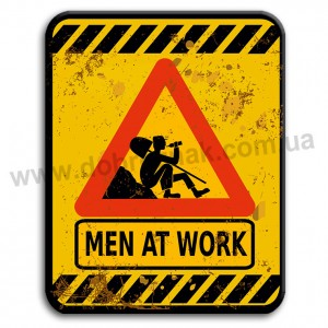 Men at work!
