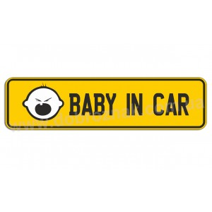 Baby in car!